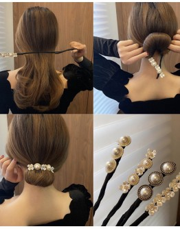 FREE SHIPPING FAUX PEARL PATTERN HAIR ACCESSORIES
