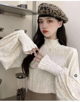 LONG-SLEEVED TURTLENECK TOPS + FREE SHIPPING
