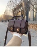 MINI FLAP-TOP CROSSBODY BAG