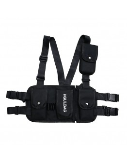 FREE SHIPPING UNISEX HGULBAG TIE-BELT PATTERED WAIST BAGS