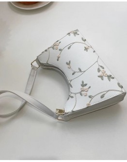 FREE SHIPPING CANVAS EMBROIDERY FLORA HANDBAGS