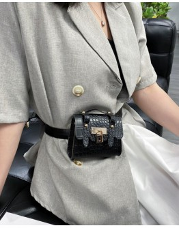 【LIMITED】FREE SHIPPING FAUX LEATHER WAISTBAGS