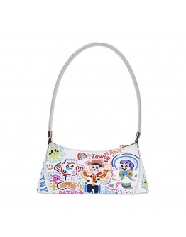 FREE SHIPPING FAUX LEATHER TOY STORY PATTERNED HANDBAGS