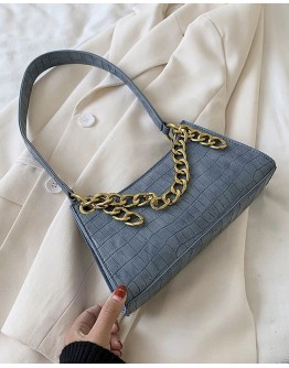 FREE SHIPPING CHAIN FAUX LEATHER HANDBAGS