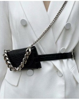 FREE SHIPPING FAUX LEATHER CHAIN MINI BAGS