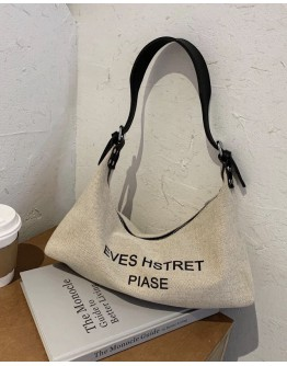 FREE SHIPPING CANVAS EVES ZIPPER SHOULDER BAGS