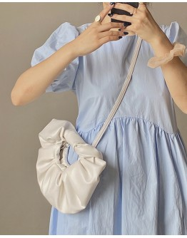 FREE SHIPPING FAUX LEATHER CLOUD CROSSBODY BAGS