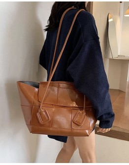 FREE SHIPPING FAUX LEATHER LONG-LINE BIGGER HANDBAGS