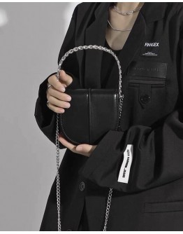 FREE SHIPPING FAUX LEATHER CHAIN POCKETBOOK CROSSBODY-BAGS