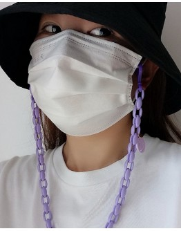 FREE SHIPPING UNISEX CANDY MASK CHAIN ACCESSORIES