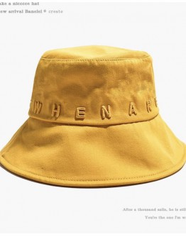 FREE SHIPPING EMBROIDER TEXT BUCKET HAT