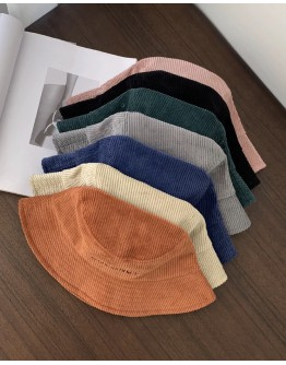 FREE SHIPPING CORDUROY COCONUT EMBROIDERY HATS