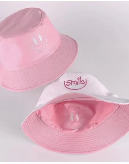 UNISEX DOUBLE-SIZE SMILE EMBROIDER HATS