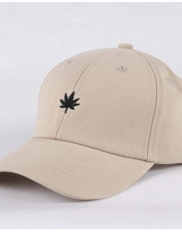 LADIES LEAF EMBROIDER CAPS