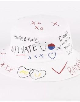 UNISEX SCRAWL I HATE PRINT HATS