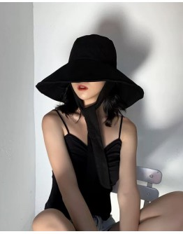 FREE SHIPPING LADIES DETACHABLE FLOPPY HAT