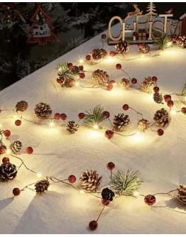 FREE SHIPPING CHRISTMAS LAMP 20 BULB 2M