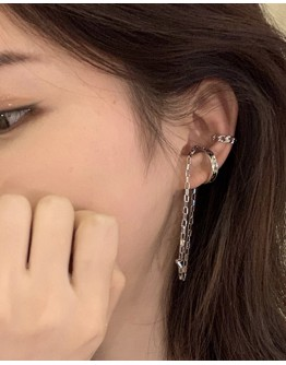 CHAIN EARRINGS CLIPPED EARRING+ FREE SMALL EARRING