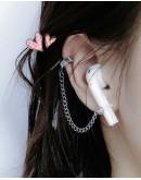 FREE SHIPPING UNISEX EARPHONE EARRING CHAIN