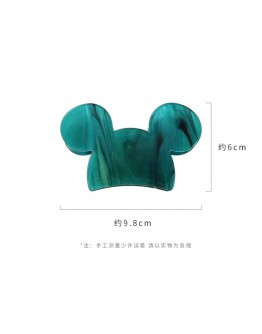 MICKEY MOUSE ACRYLIC HAIRPIN
