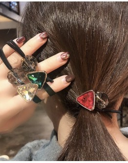 【ONLY FOR AGENT】FAUX STONE HAIRRINGS