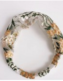 【GS】FREE SHIPPING FLORA EMBRODIER HAIRBAND
