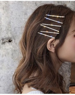 FAUX DIAMOND HAIRPINS 4 IN 1 SET