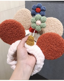 FREE SHIPPING KNITTED FLORA HAIRBAND