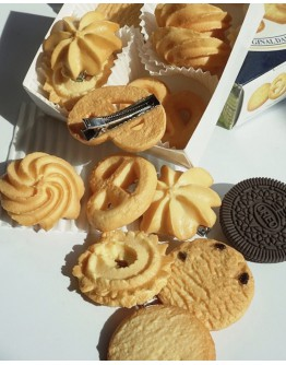 ( BUY 3 FREE 1 ) BISCUITS PATTENS HANDMADE HAIRPINS