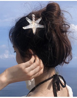 ACRYLIC STARFISH HAIR PIN