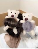 9.9 FREE SHIPPING BEAR RABBIT TOYS PATTERN HAIRRING
