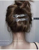 FREE SHIPPING SEXY TEXT PATTERN HAIRPIN