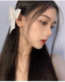 FREE SHIPPING 2 SMALL RIBBON + 2 BIG RIBBON HAIRPINS