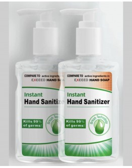 100ML / 237ML HAND SANITIZER KILLS 99% OF GERMS