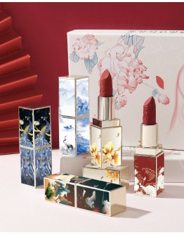 FREE SHIPPING CRANE SCULPTURE LIPSTICK 5 IN 1 SET