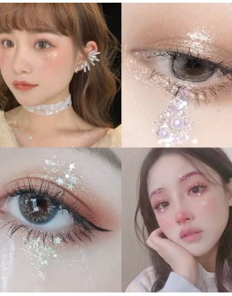 BLING BLING 6 COLORS GLITTER EYE SHADOW