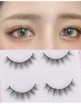 3D FALSE EYELASHES 3 PAIRS