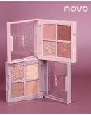 【GS】FREE SHIPPING NOVO COLOR CARNIVAL PARTY EYESHADOW
