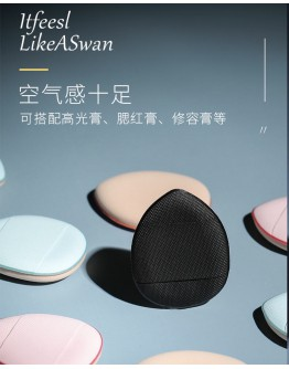 FINGER COSMETIC POWDER PUFF MAKE UP ACCESSORIES WITHOUT BOX