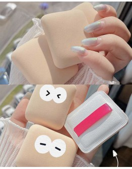 COSMETIC POWDER PUFF MAKE UP ACCESSORIES WITHOUT BOX