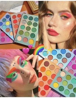 12.12 FREE SHIPPING COLOR BOARD BEAUTY GLAZED 4 EYESHADOWS