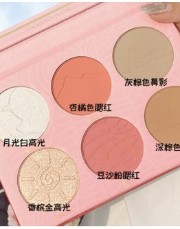 FREE SHIPPING SWEET MINT BLUSHER SHADING POWDER