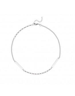 UNISEX FREE SHIPPING METAL SMOOTH CHAIN NECKLACE