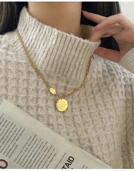 FREE SHIPPING BELOVED TITANIUM STEEL NECKLACE