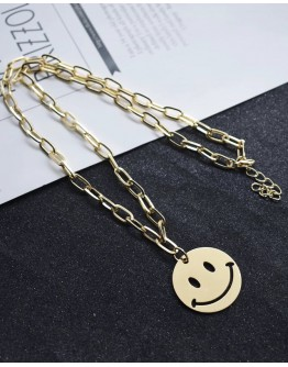 FREE SHIPPING BUY 2 FREE 1 UNISEX CHAIN GOLD NECKLACE