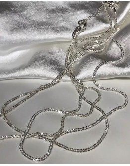 FREE SHIPPING 925 SILVERY NECKLACE