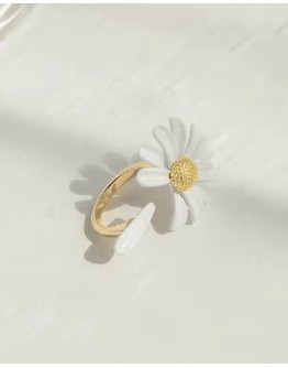 FREE SHIPPING OPEN-END FLOWER RING