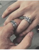 【GS】FREE SHIPPING UNISEX CHAIN RING