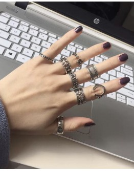 BUY 2 FREE 1 LADIES METAL CROSS RINGS