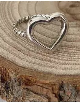 (BUY 2 FREE 2) FREE SHIPPING 925 SILVERY CUT-OUT PATTERN RING